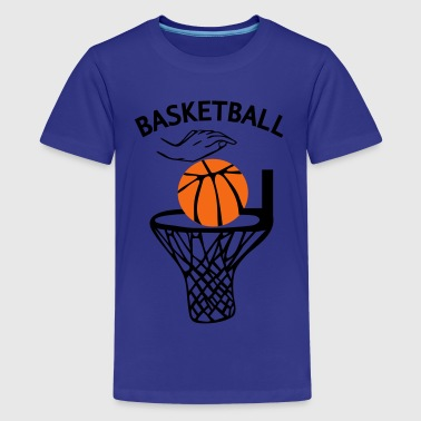 basketball_2c - Kids' Premium T-Shirt