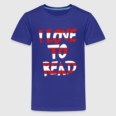 Love to Read - Teachers T-Shirts - Kids' Premium T-Shirt