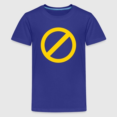 strikeout none non no symbol - Kids' Premium T-Shirt