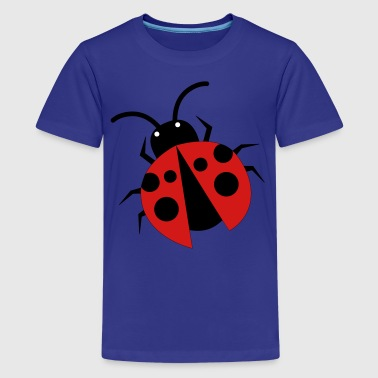 pretty little ladybird bug left - Kids' Premium T-Shirt