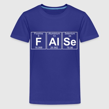 F-Al-Se (false) - Full - Kids' Premium T-Shirt