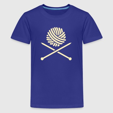 Knitting - Kids' Premium T-Shirt