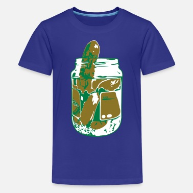 Funny Pickle Pickles - Kids' Premium T-Shirt