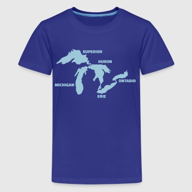 Great Lakes - Kids' Premium T-Shirt