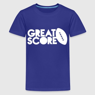 great score! Rugby AFL long ball - Kids' Premium T-Shirt
