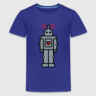 Love Robot - Kids' Premium T-Shirt