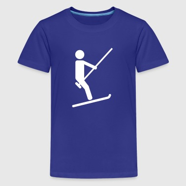 Ski lift - Kids' Premium T-Shirt