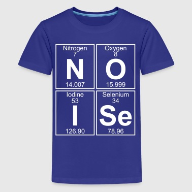 N-O-I-Se (noise) - Full - Kids' Premium T-Shirt