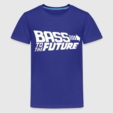 Bass to the Future - Kids' Premium T-Shirt