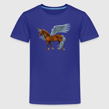 horse wings - Kids' Premium T-Shirt