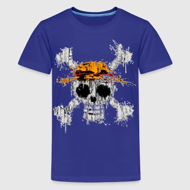 One piece Skull - Kids' Premium T-Shirt