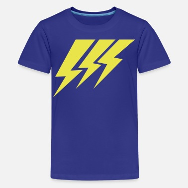 Lightning Strikes THREE STRIKE LIGHTNING lightning strikes - Kids' Premium T-Shirt