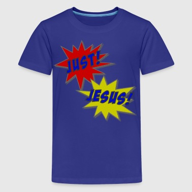 Just Jesus Comic Splat - Kids' Premium T-Shirt