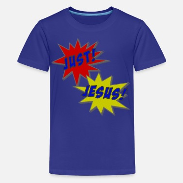 Just Jesus Just Jesus Comic Splat - Kids' Premium T-Shirt