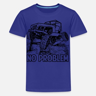 Rock Crawling Truck No Problem Rock Crawling Jeep - Kids' Premium T-Shirt
