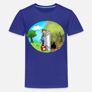 Skykids FUNnel Vision THE OTHER SIDE (Kid's) - Kids' Premium T-Shirt