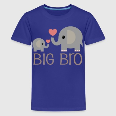 Big Bro Elephants - Kids' Premium T-Shirt