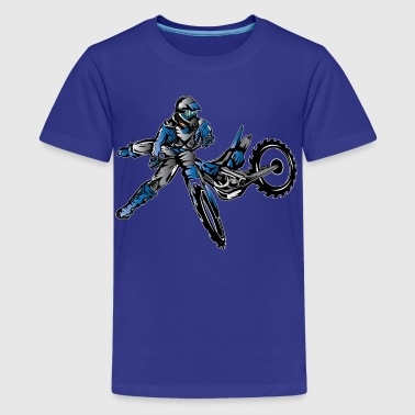 Yamaha Freestyle Dirt Bike T-Shirts - Kids' Premium T-Shirt
