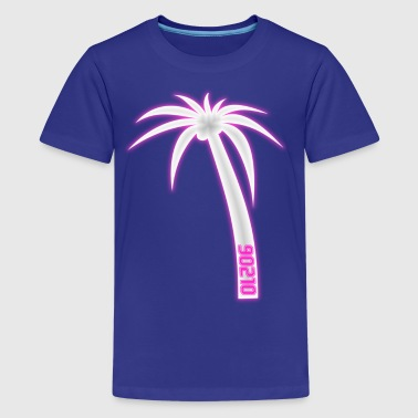 90210 Palm Tree Beverly Hills California - Kids' Premium T-Shirt