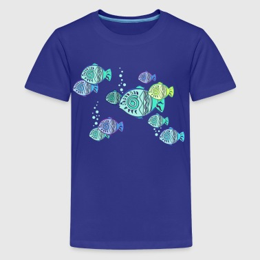 lucky fish - Kids' Premium T-Shirt