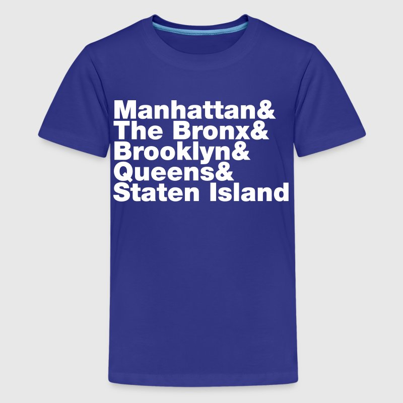 Five Boroughs ~ New York City - Kids' Premium T-Shirt