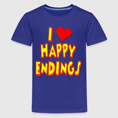 I Love Happy Endings - Kids' Premium T-Shirt