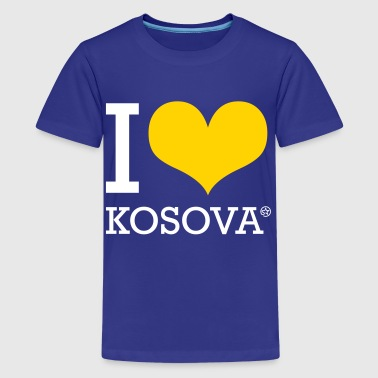 I LOVE KOSOVO - Kids' Premium T-Shirt