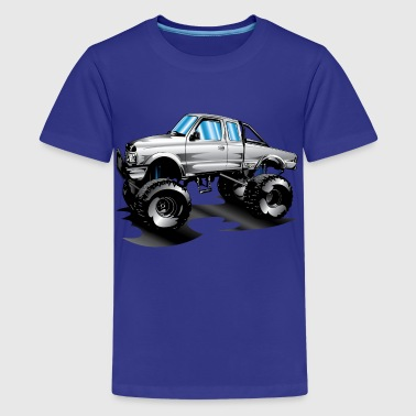 Lifted 4x4 Ford Truck - Kids' Premium T-Shirt