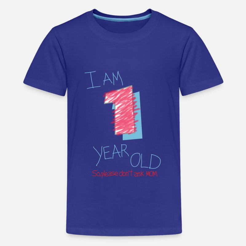 Im One Year Old Boy Kids Premium T Shirt