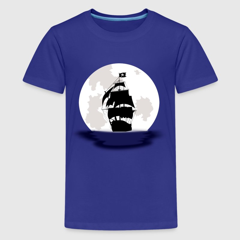 Pirate Ship - Men's - Kids' Premium T-Shirt
