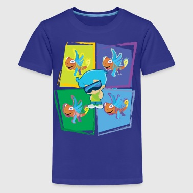 Chase w/ Clarence - Kids' Premium T-Shirt