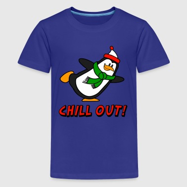 Chill Out Penguin Chilly Willy - Kids' Premium T-Shirt