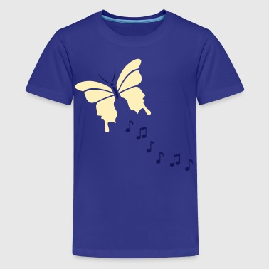 Butterfly Music - Kids' Premium T-Shirt