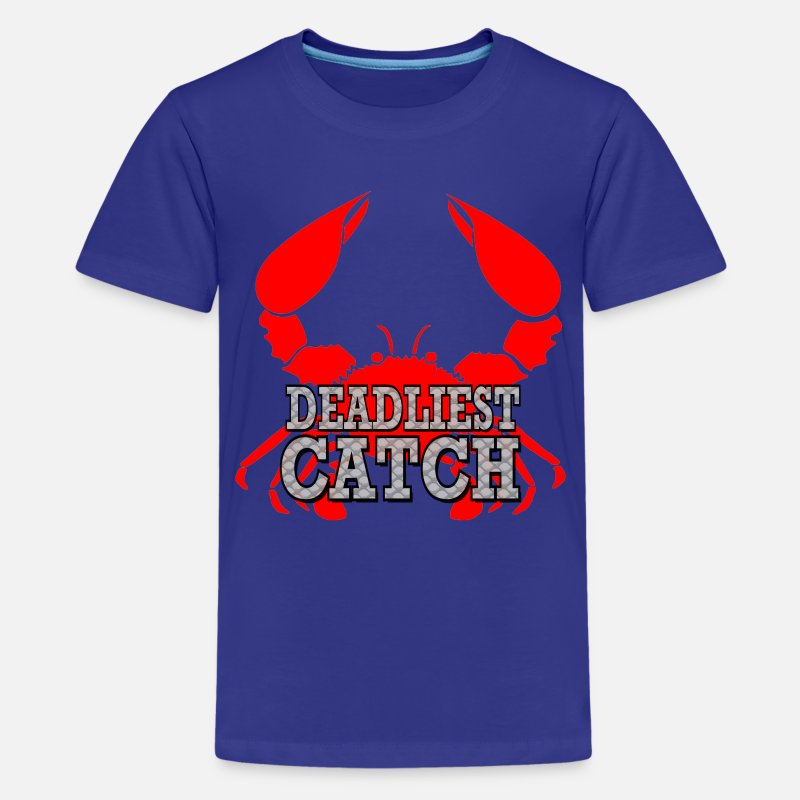 Crab T-Shirts - Deadliest Catch - Kids' Premium T-Shirt royal blue