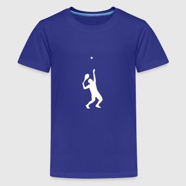 tennis, tennis player - Kids' Premium T-Shirt