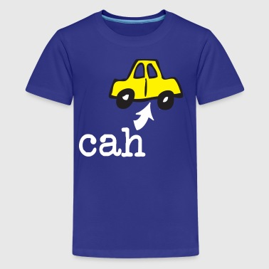 Funny Boston Accent Car Cah Humor Shirts - Kids' Premium T-Shirt