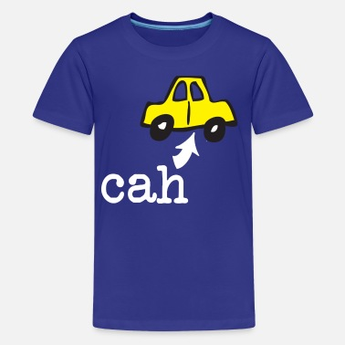 Accent Funny Boston Accent Car Cah Humor Shirts - Kids' Premium T-Shirt