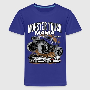 Monster Truck Mania Group - Kids' Premium T-Shirt