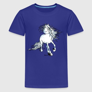 Andalusian Horse White Beauty - Horse - Andalusian - Kids' Premium T-Shirt
