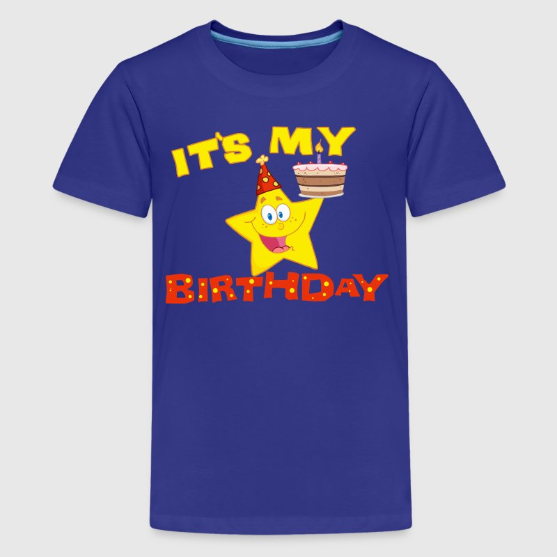 It's My Birthday Star - Kids' Premium T-Shirt