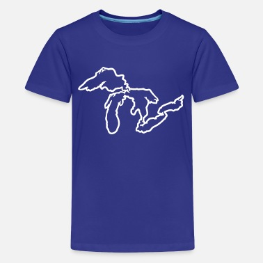 Lake Huron Great Lakes - Kids' Premium T-Shirt