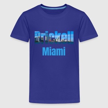 Avenue Brickell Miami, United States, Country Tourist Gifts - Kids' Premium T-Shirt
