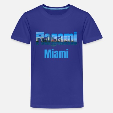 Kids Miami Flagami Miami, United States, Tourism Country Tourist Gifts - Kids' Premium T-Shirt