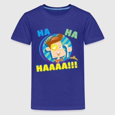 FUNnel Ha Ha - Kids' Premium T-Shirt