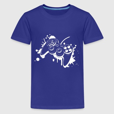 Gamepad Graffiti - Kids' Premium T-Shirt