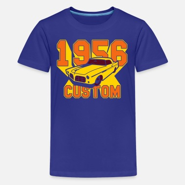 1956 Year limousine from the year 1956 - Kids' Premium T-Shirt