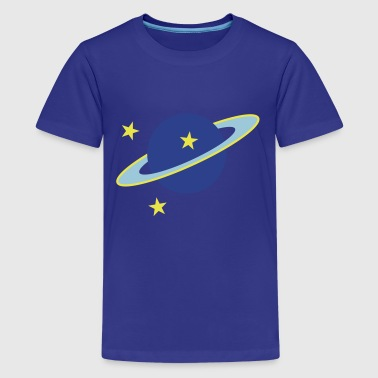 2541614 15466780 saturn - Kids' Premium T-Shirt