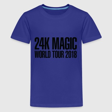 Bruno Mars BRUNO MARS 24K MAGIC WORLD TOUR 2018 T-Shirt - Kids' Premium T-Shirt