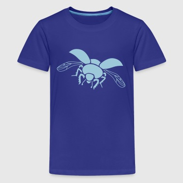 dung beetle wings insect fly - Kids' Premium T-Shirt