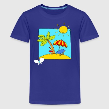 Holliday Scene - Kids' Premium T-Shirt